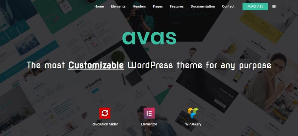 avas multi purpose theme