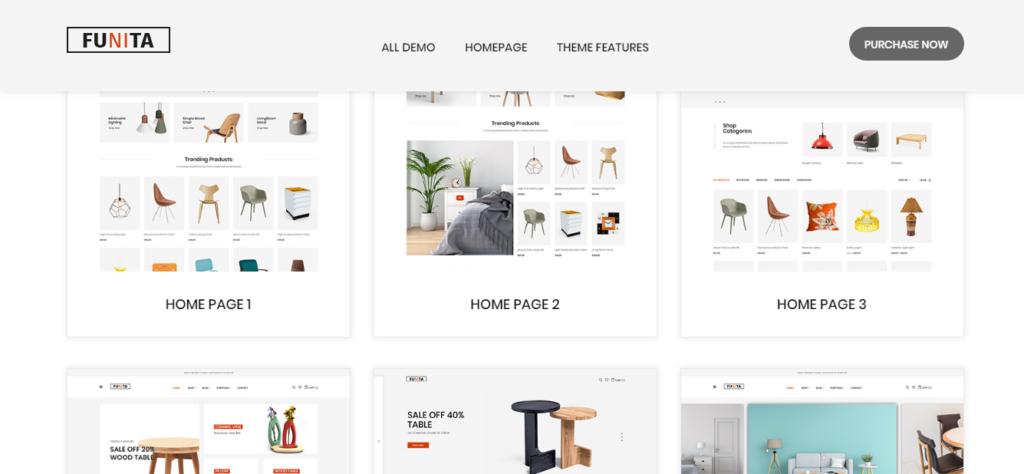 Furniture WordPress