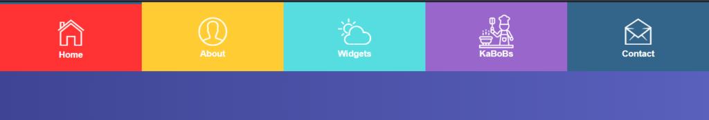 Big image menu for html theme