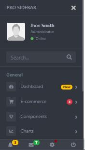 Most amazing admin menubar