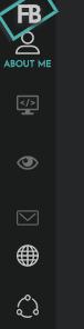 black admin menu bar