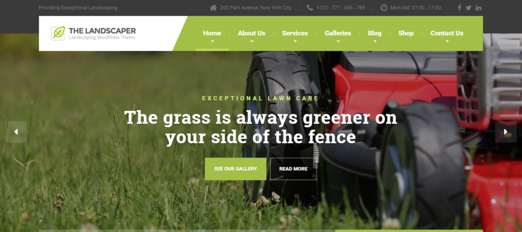 agro firm wordpress theme