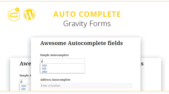 Auto complete wordpress form
