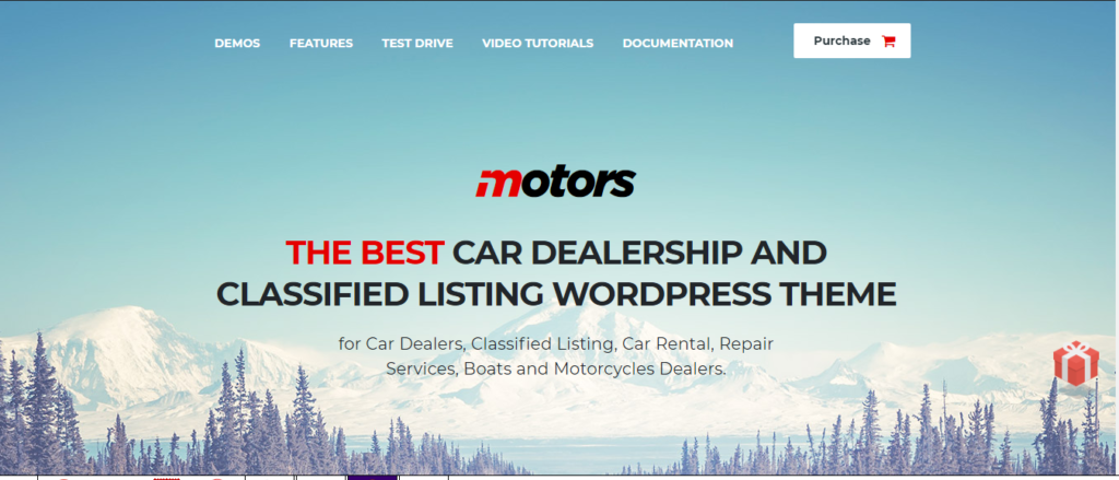 best car and automotive WordPress themes