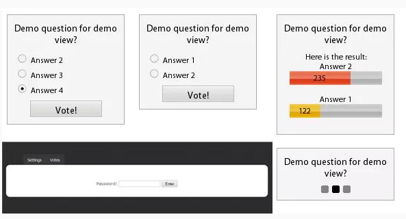 poll that control by ajax
