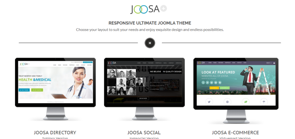 Joosa is an ultimate responsive theme.