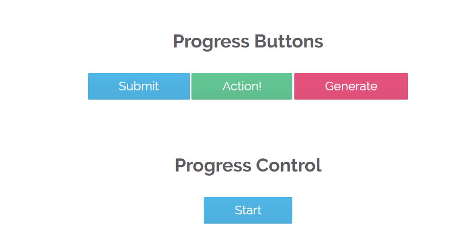 Progress button