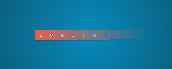 Full loading bar