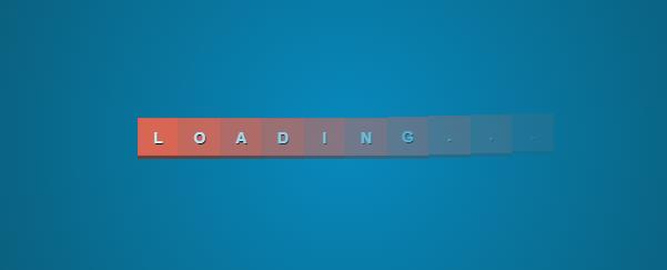 Full loading bar