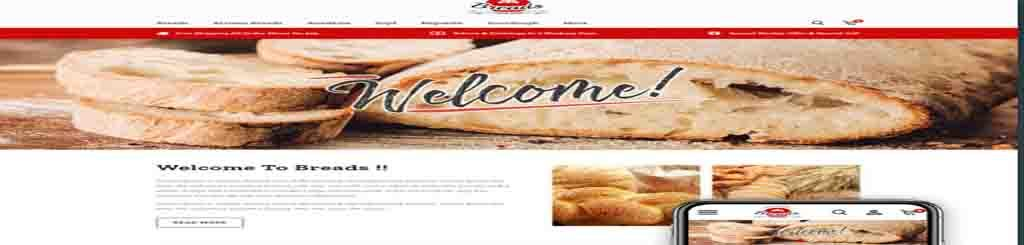 Bakery Shop  PrestaShop  free and paid themes