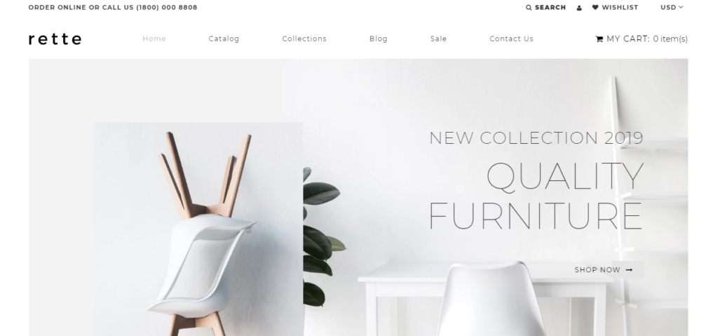 Furniture theme Shopify