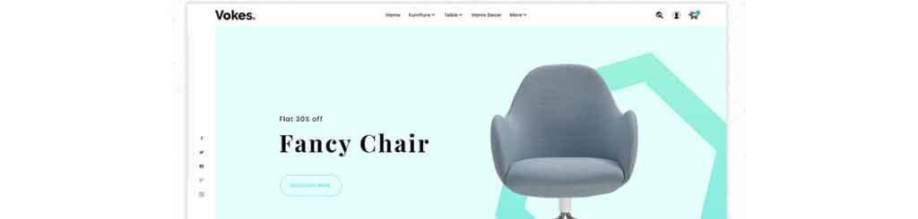 Vokes Furniture Store Premium Prestashop Theme