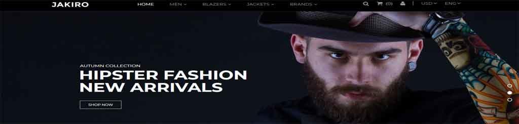 Fashion Shop Prestashop Theme
