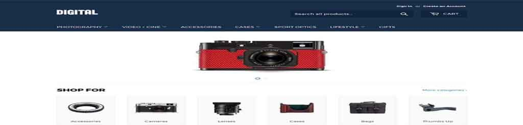 Shopify digital template