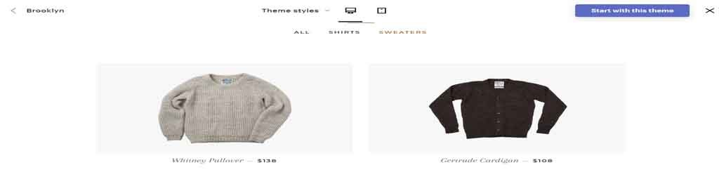 dress theme Shopify theme