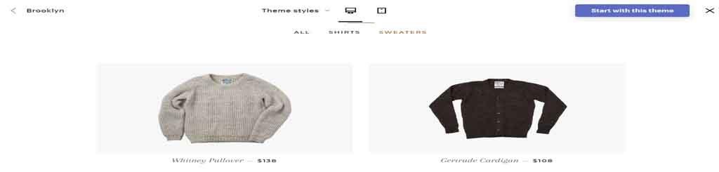 dress theme Shopify theme