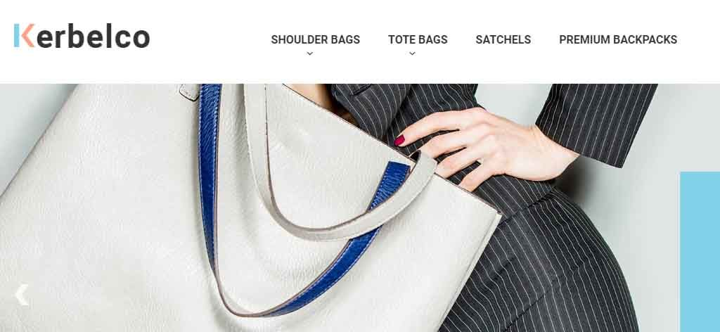 girls bag  magento theme