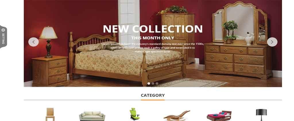 Home furniture template