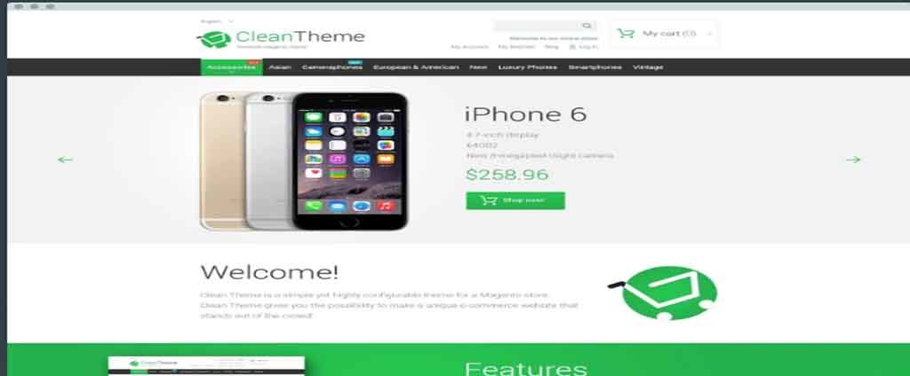 iphone selll theme