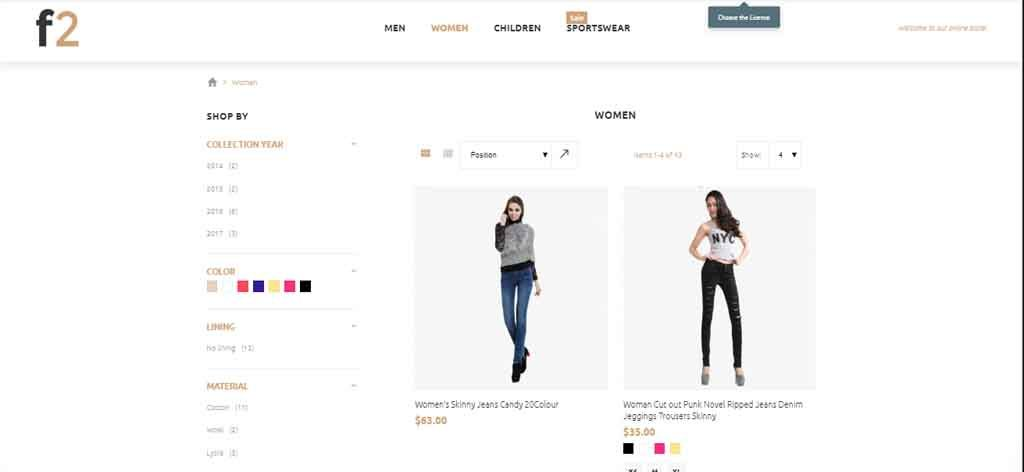 Fashion Boutique Magento2 Theme