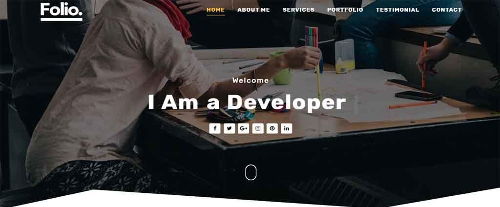 Developer theme