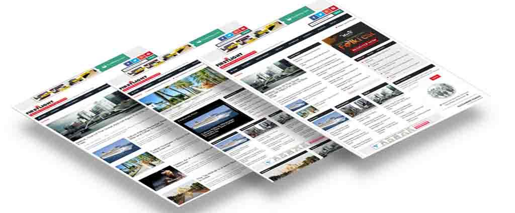 Newspaper  Responsive Blogspot