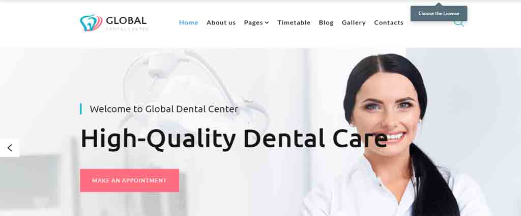dental product sale theme