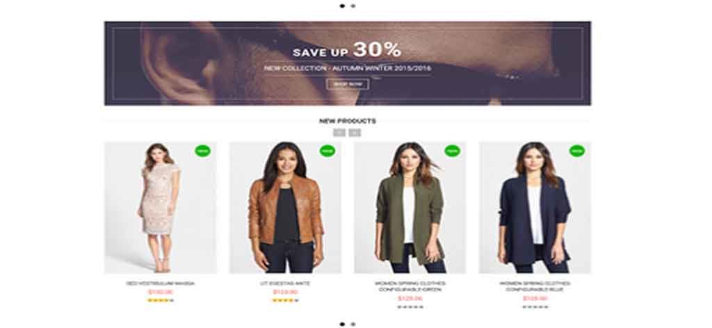 Free magento eCommerce template
