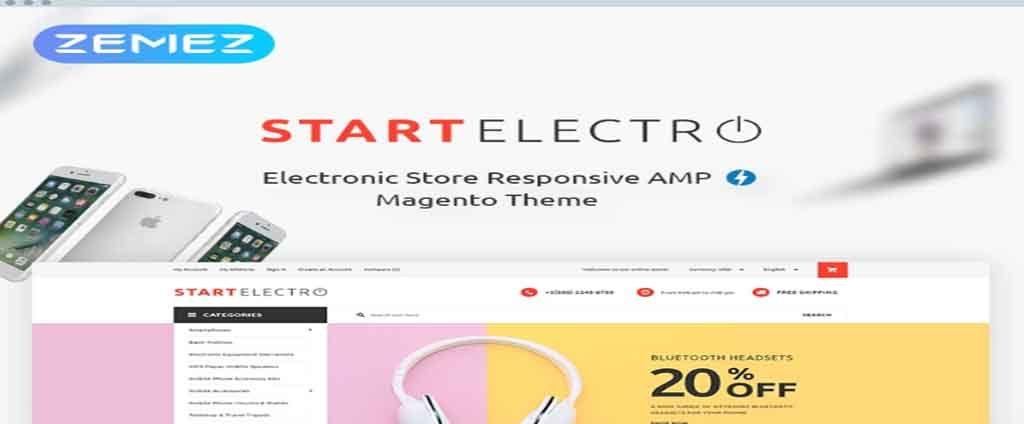 mobile shop magento theme