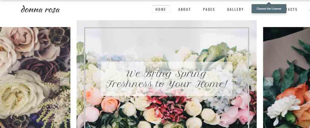 lily sale theme
