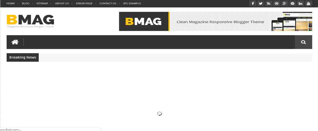 magazine blogger theme