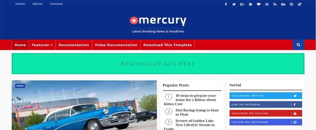 merquery blogspot theme
