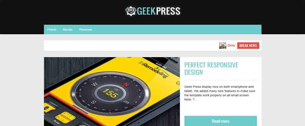 responsive blogger theme