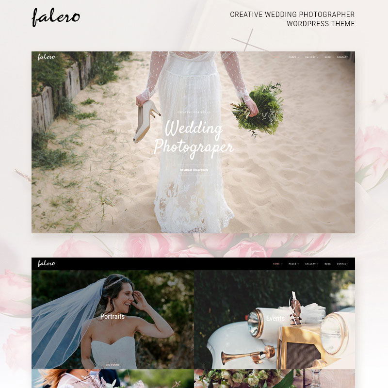 Photography wedding theme