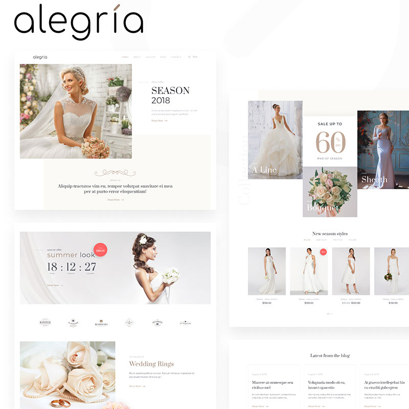Wedding theme wordpress