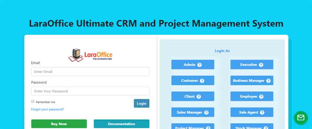 Ulimate crm and product sale management