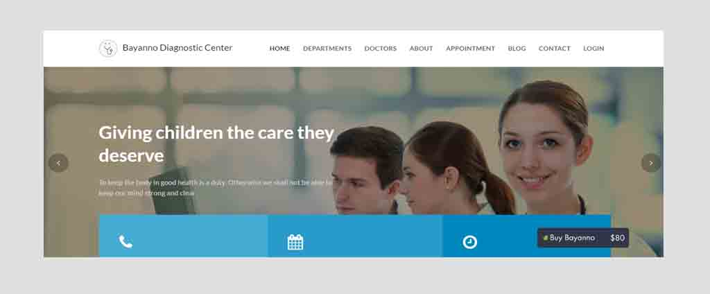 diagnostic center application