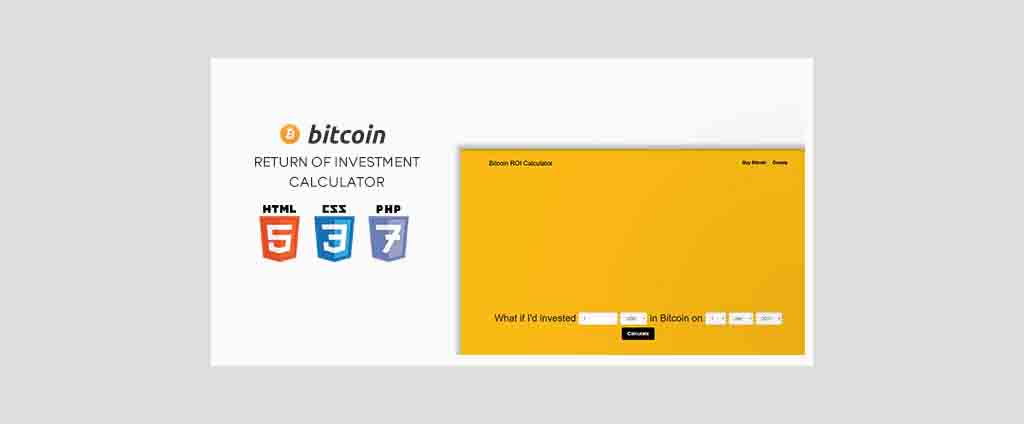 Bitcoin ROI Calculator