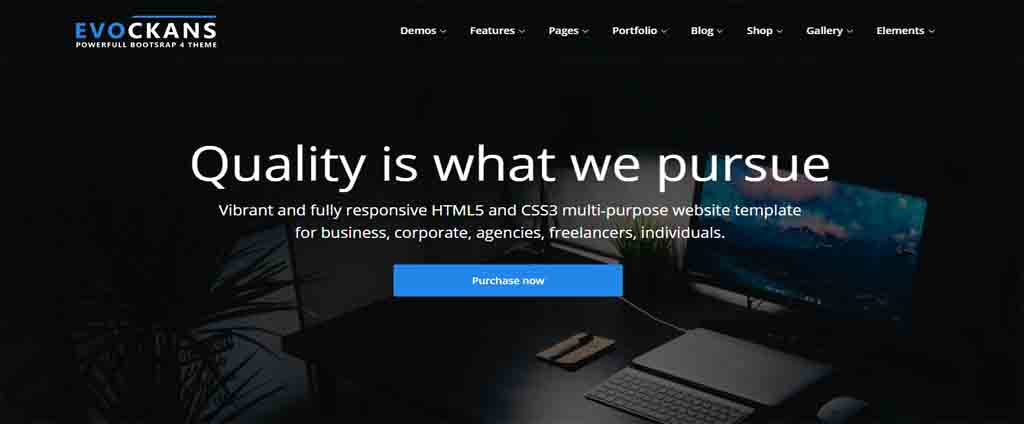 Business Template html