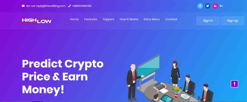 Crypto Prediction Trading Platform