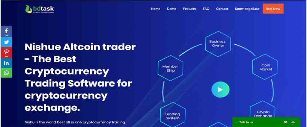 CryptoCurrency Buy Sell Exchange