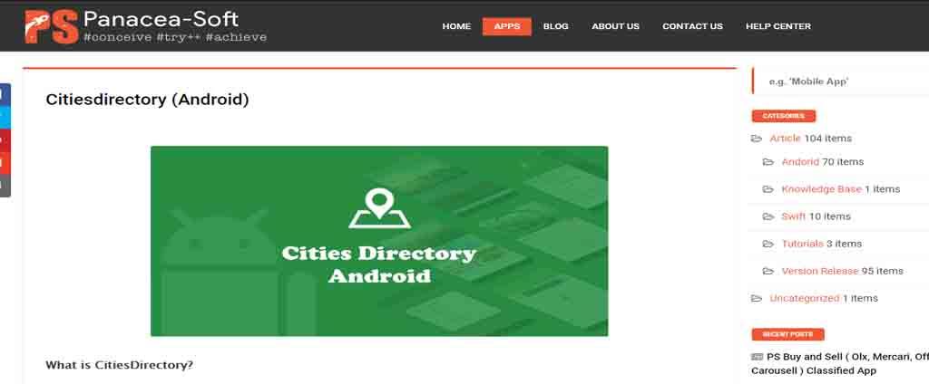 Directory Web Application