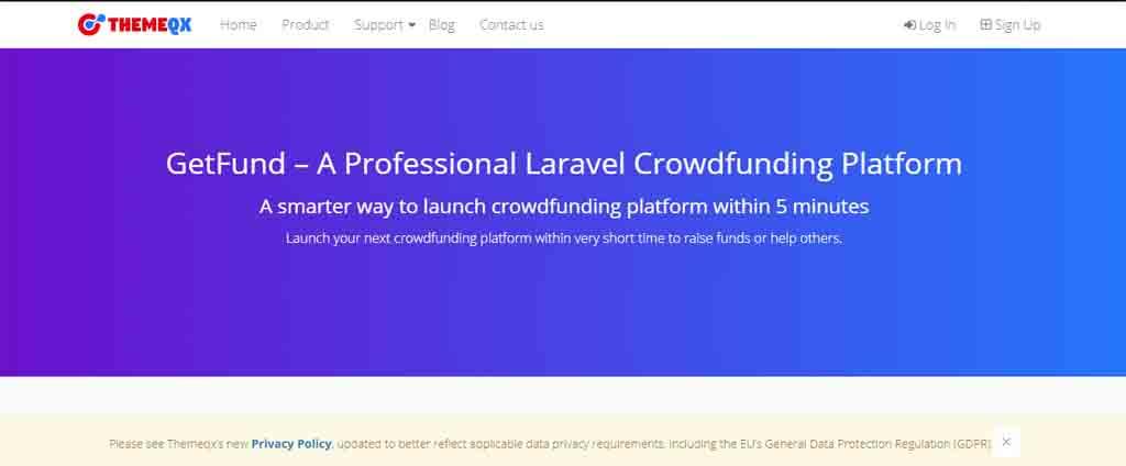 Laravel Crowdfunding Platform