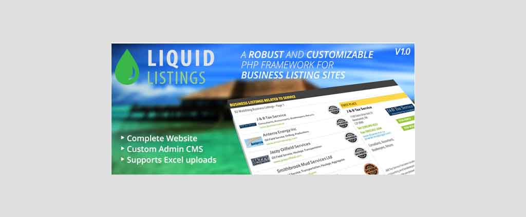 Listings PHP Business Directory