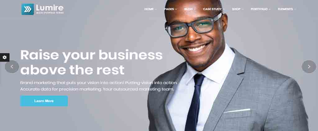 Multi-Purpose corporate html Template