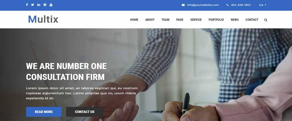 Multipurpose Website CMS