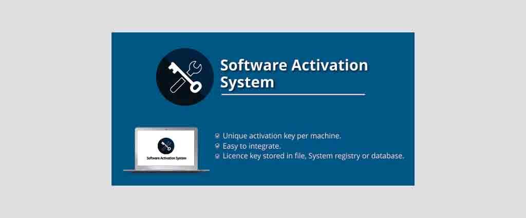 Software License Activation System