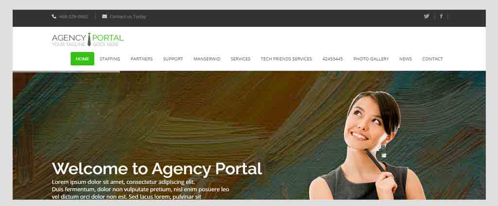 agency job portal management