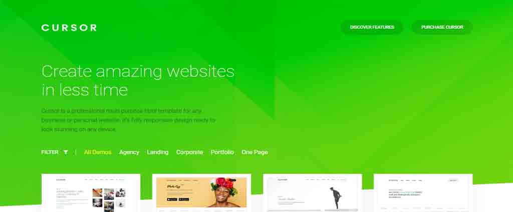 create amazing html theme
