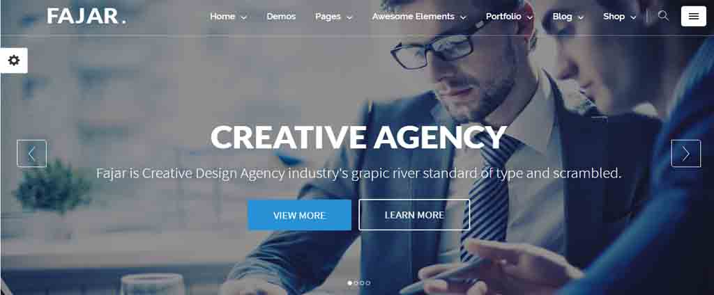 creative agency html theme